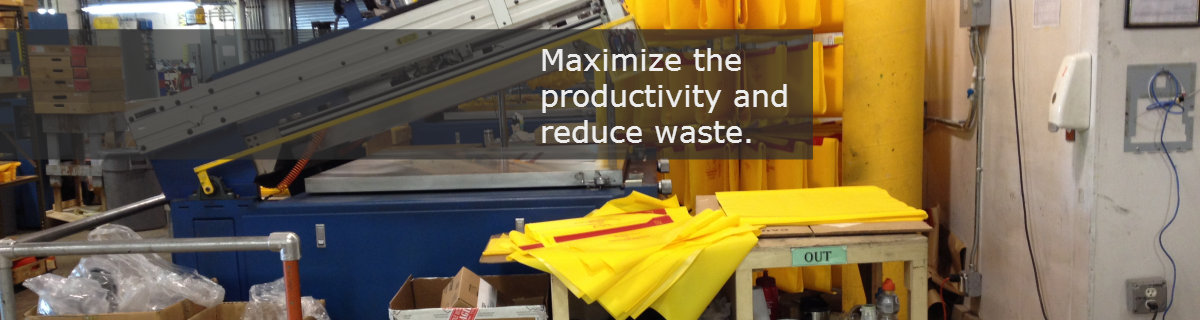 Reduce waste and maximize productivity